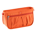 Orange Parasail Makeup Bag