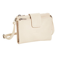 Ivory Alyssa Leather Crossbody