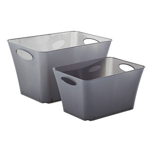 Smoke Taper Storage Bins with Handles