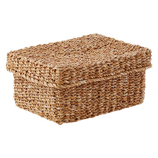 Rectangular Hogla Storage Bin with Lid