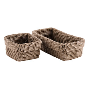 Hughes Crochet Storage Bins