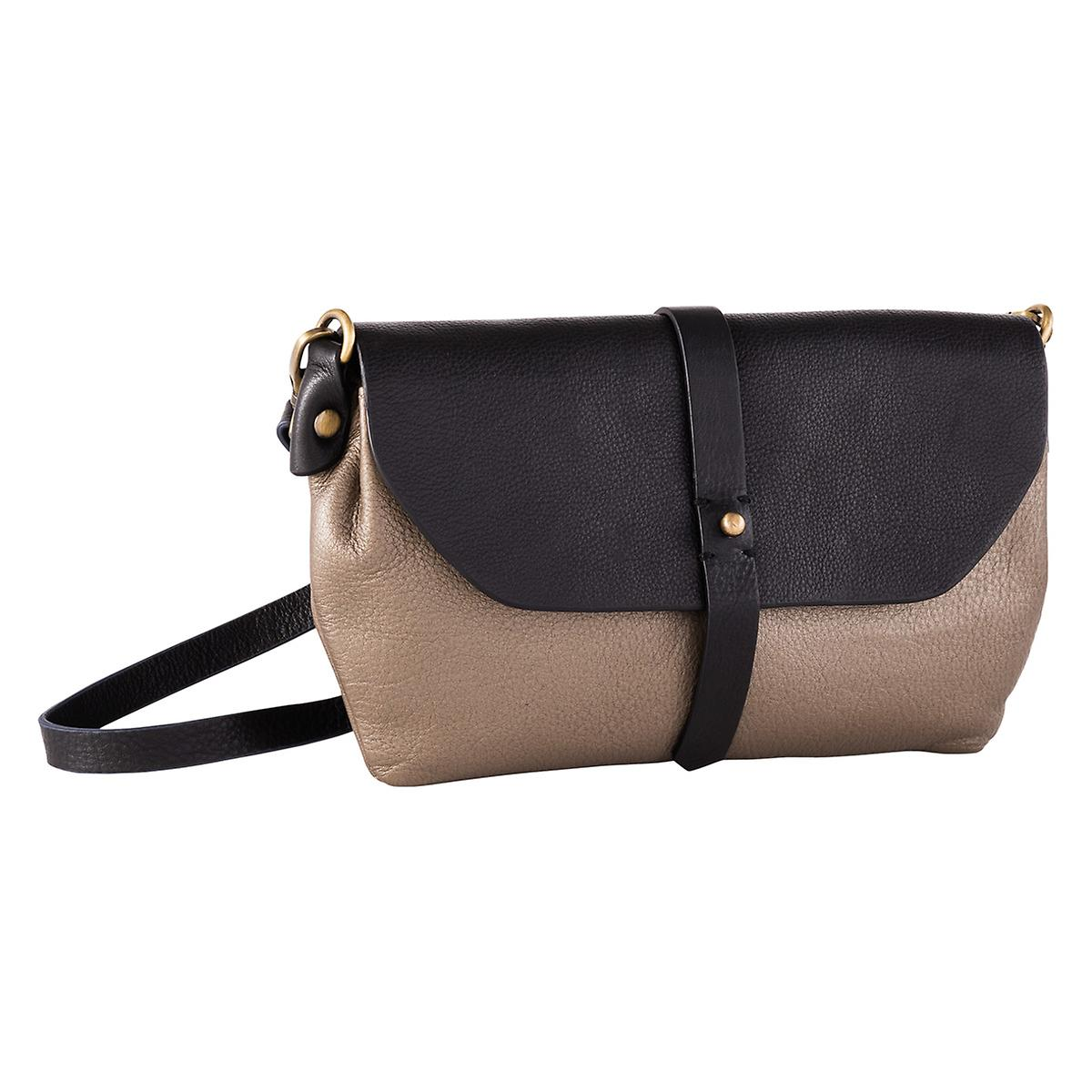 Bronze Primavera Leather Crossbody