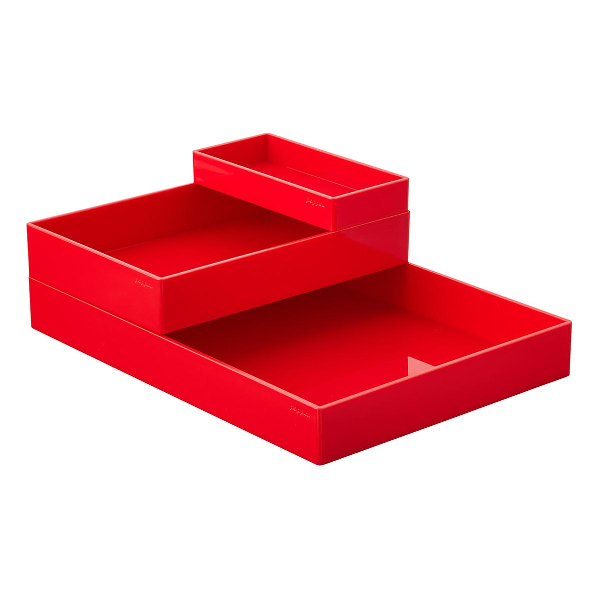 Red Poppin Accessory Trays