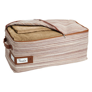 Umbra Medium Brown Artisan Crunch Storage Bag