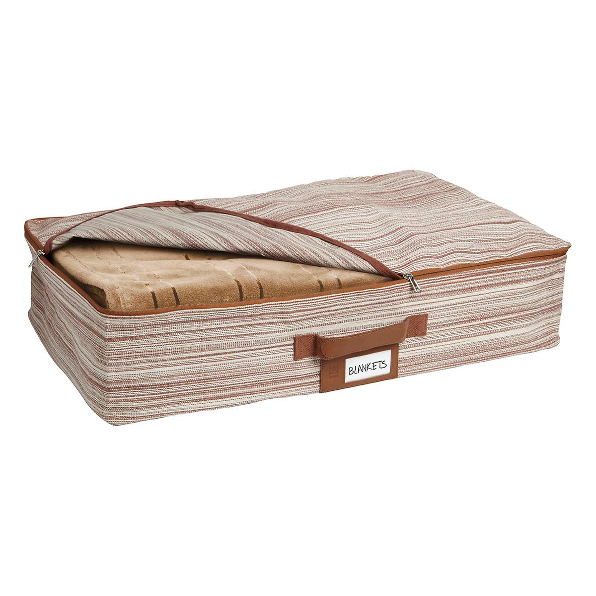 Accessories choose an option under bed drawers trundle bed none - Umbra Brown Under Bed Artisan Crunch Storage Bag