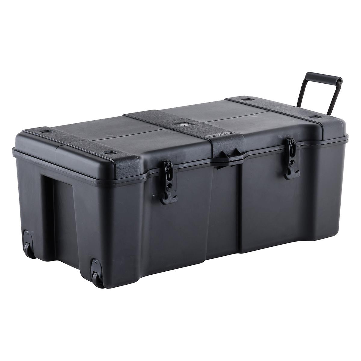 Black Ultra Storage Trunk with Wheels