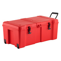 Red Ultra Storage Locker with Wheels