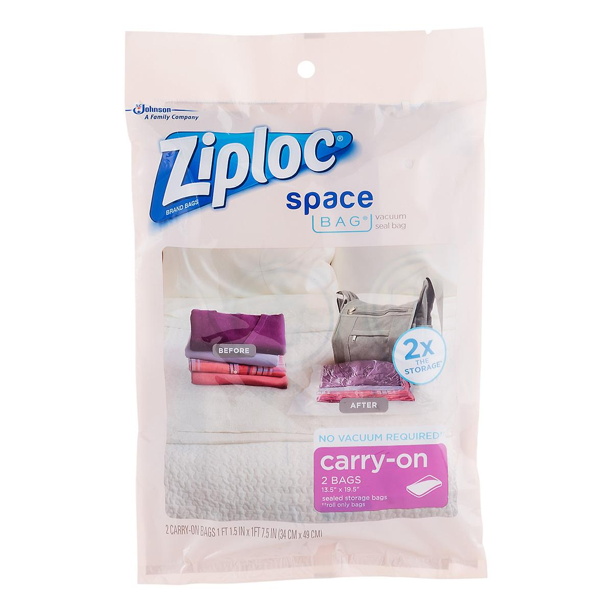 Ziploc Space Bags Travel Space Bags By The Container Store