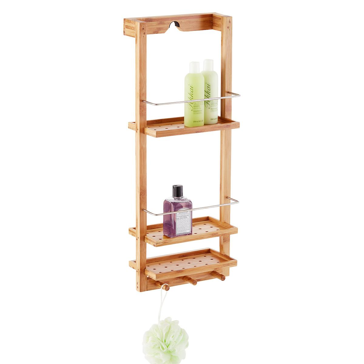 Zen 3 Tier Shower Caddy The Container Store