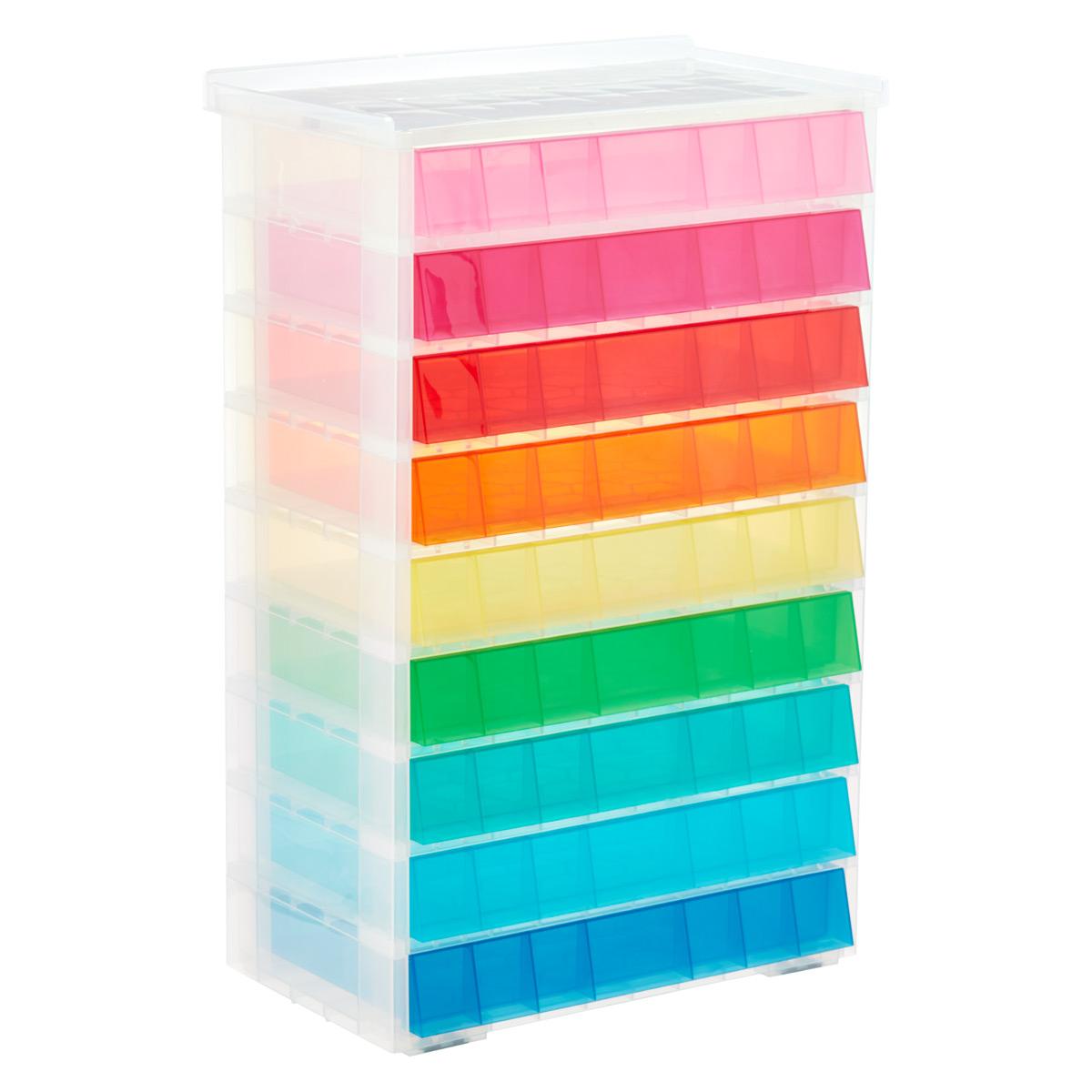Exceptionnel Rainbow 9 Drawer Storage Unit