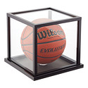 Wooden Basketball Display Case