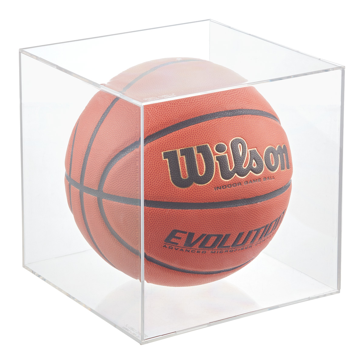 Ballqube Basketball & Soccer Ball Display Cube