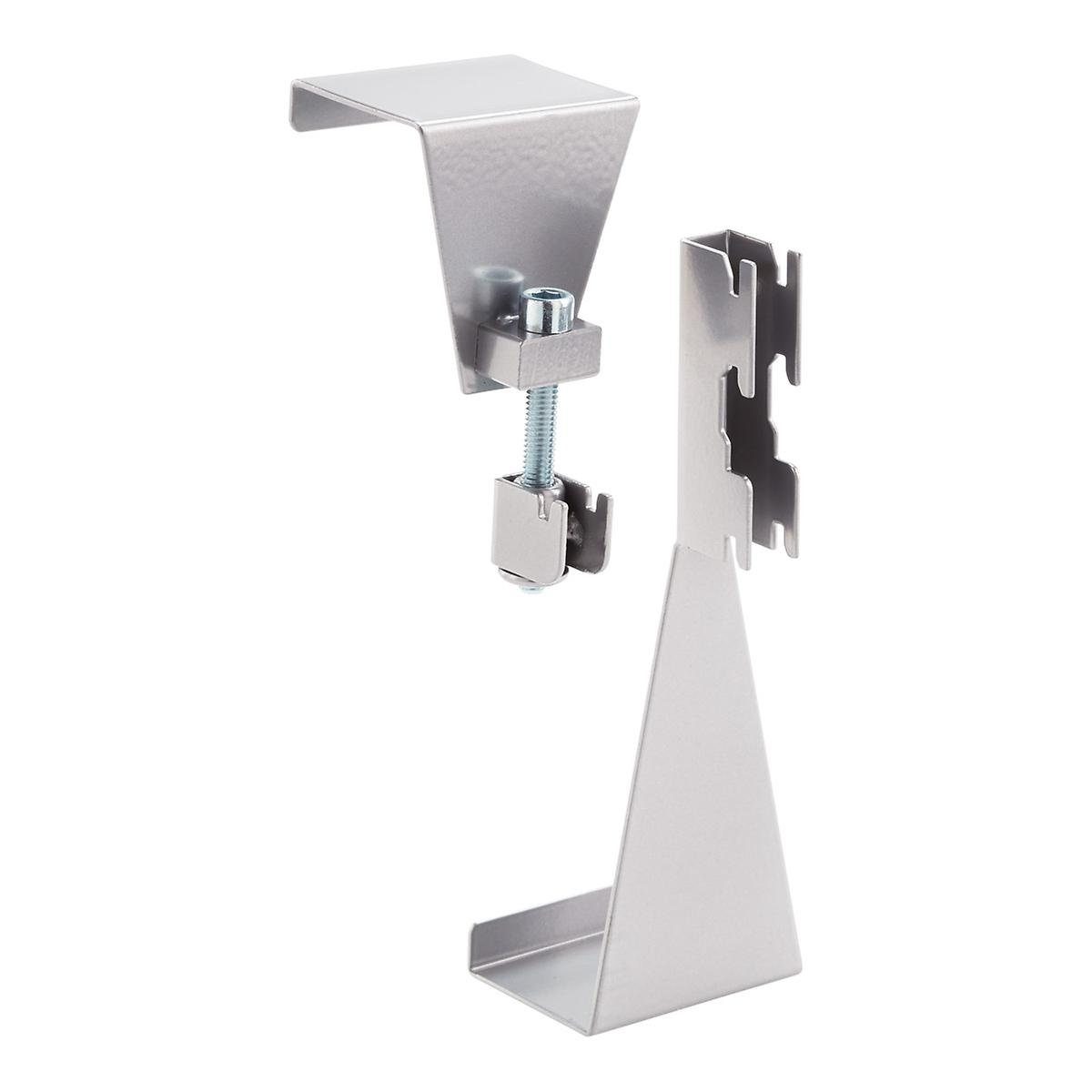 Elfa Utility White Mesh Pantry Door Wall Rack: Platinum Elfa Utility Door & Wall Boards