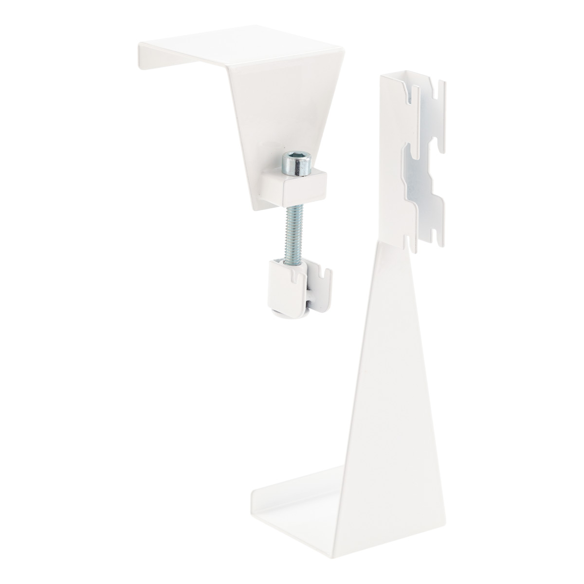White Elfa Utility Over the Door Hooks
