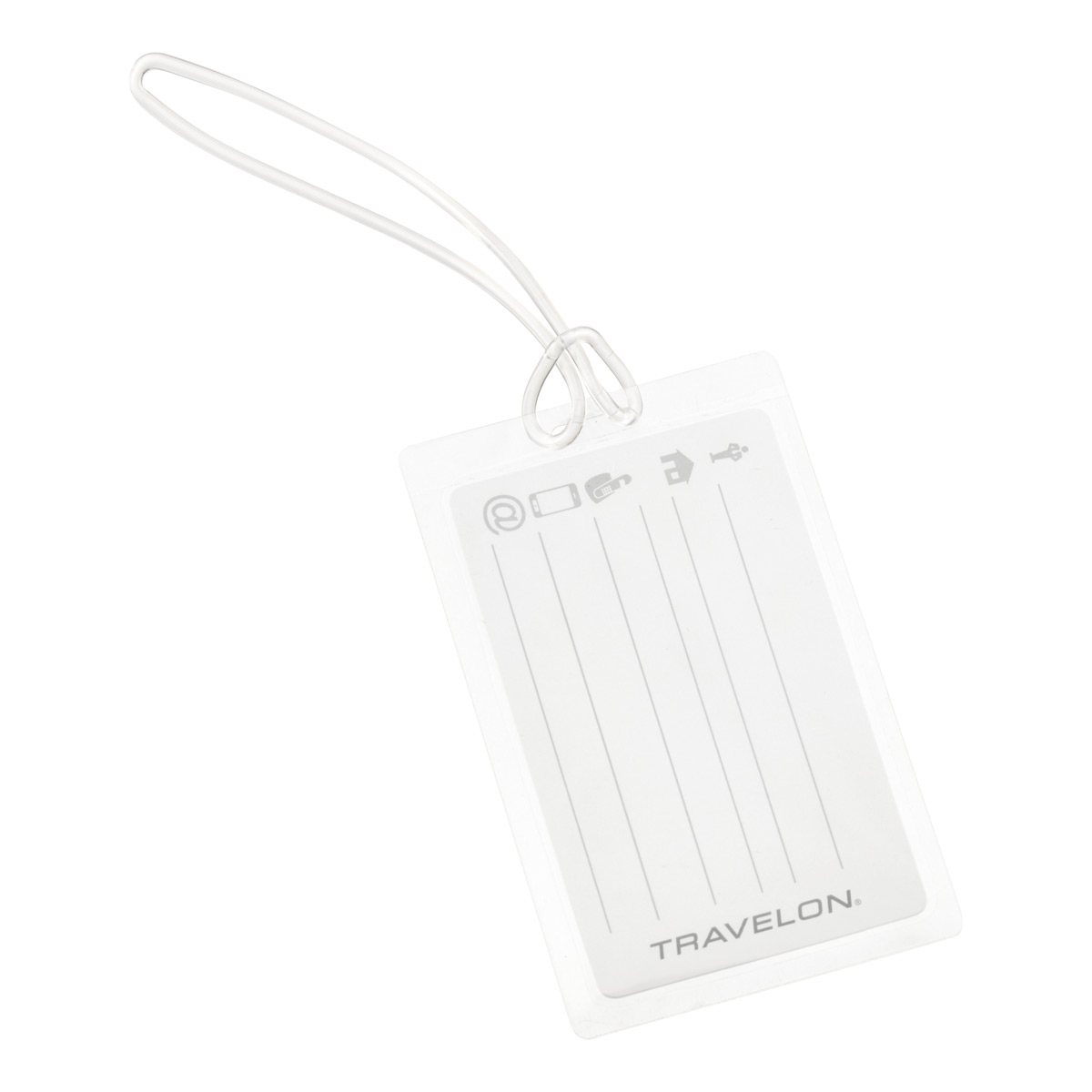 Self-Laminating Luggage Tags