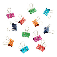 Three by Three Assorted Mini Binder Clips