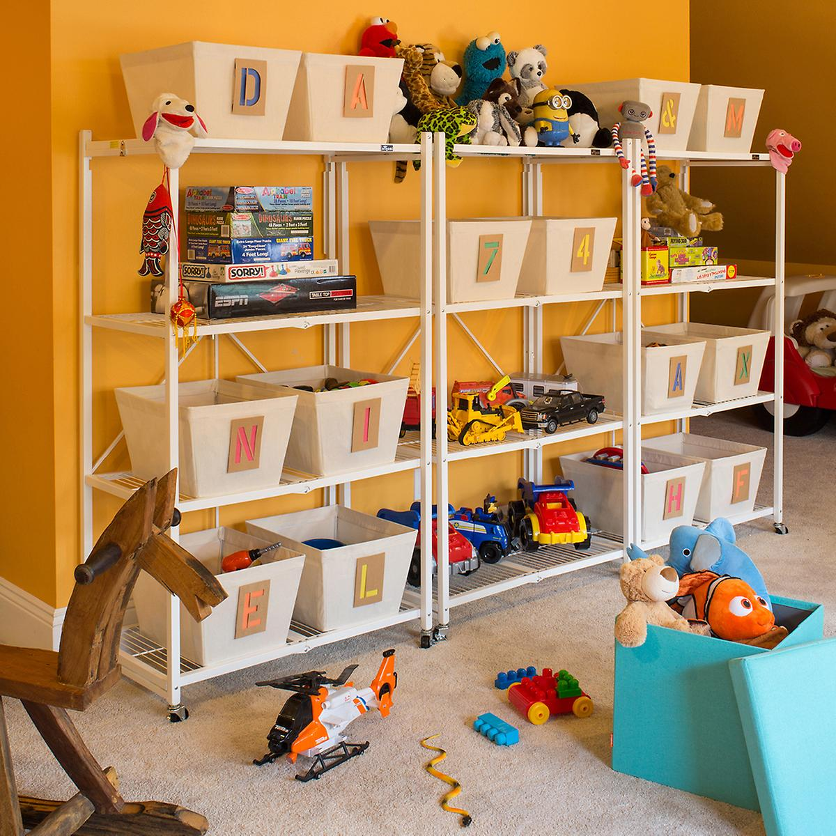 Origami Shelf Folding Rack The Container Store