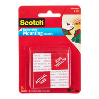 Scotch Removable Mounting Squares Product Image