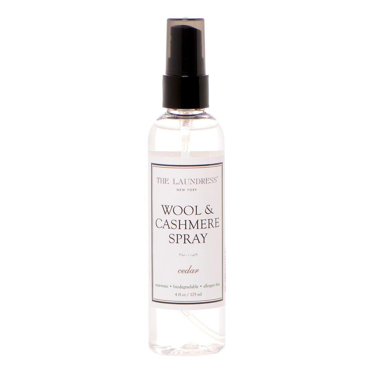 the laundress 4 oz wool cashmere spray the container. Black Bedroom Furniture Sets. Home Design Ideas