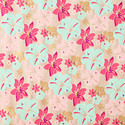 Kraft Blooms Recycled Wrapping Paper Sheets