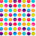 Aurora Birthday Dots Foil Wrapping Paper
