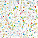 Happy Birthday Foil Wrapping Paper