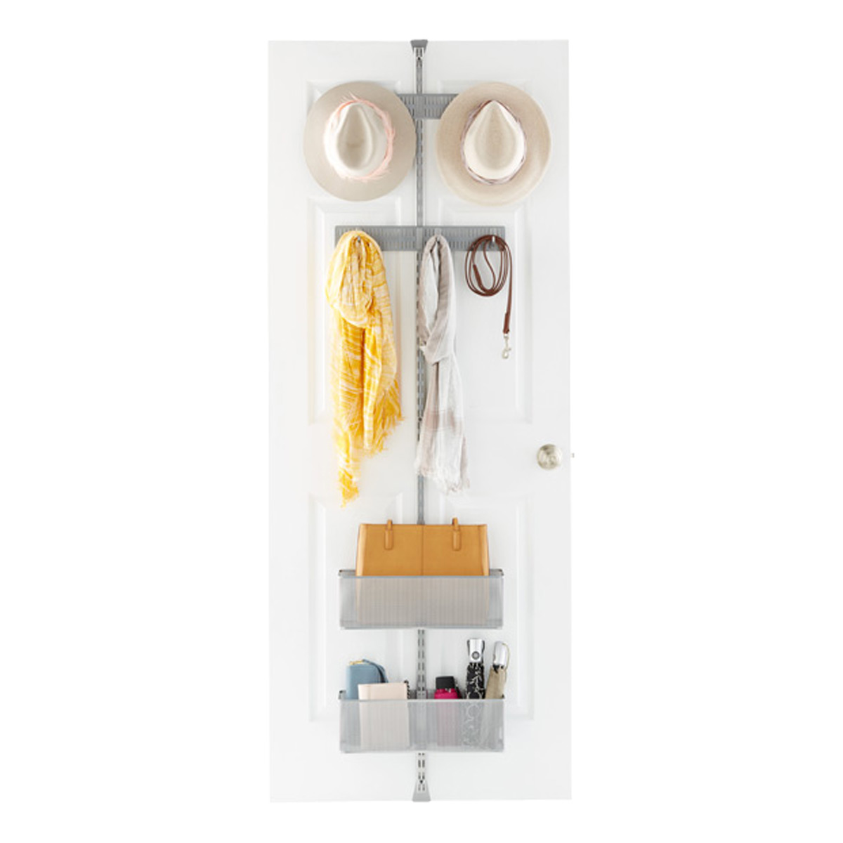 Elfa Platinum Utility Closet Over the Door Rack