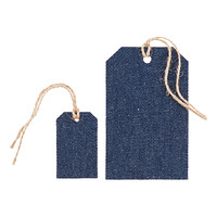 Denim Gift Tags