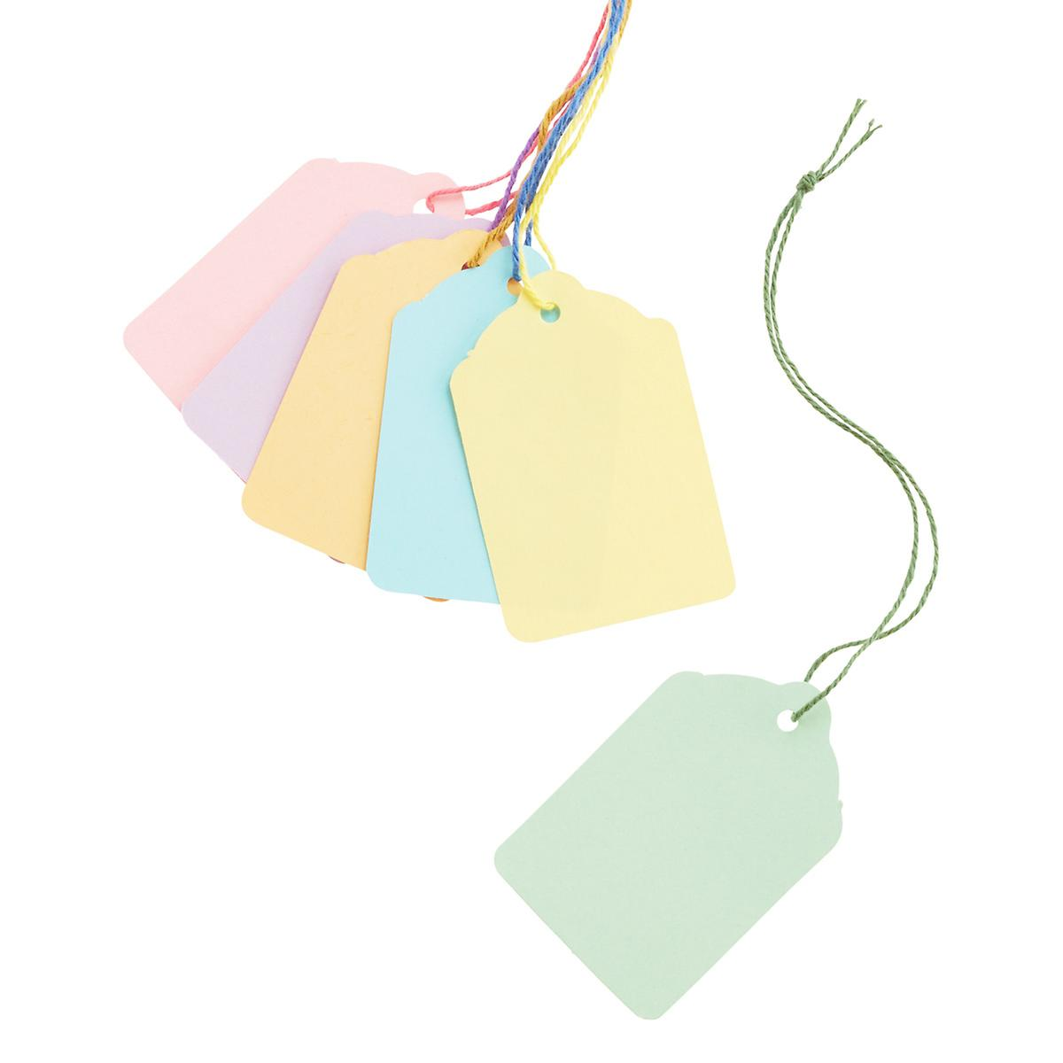Scallop Pastel Gift Tags