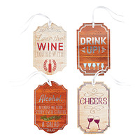 Assorted Bottle Neck Gift Tags