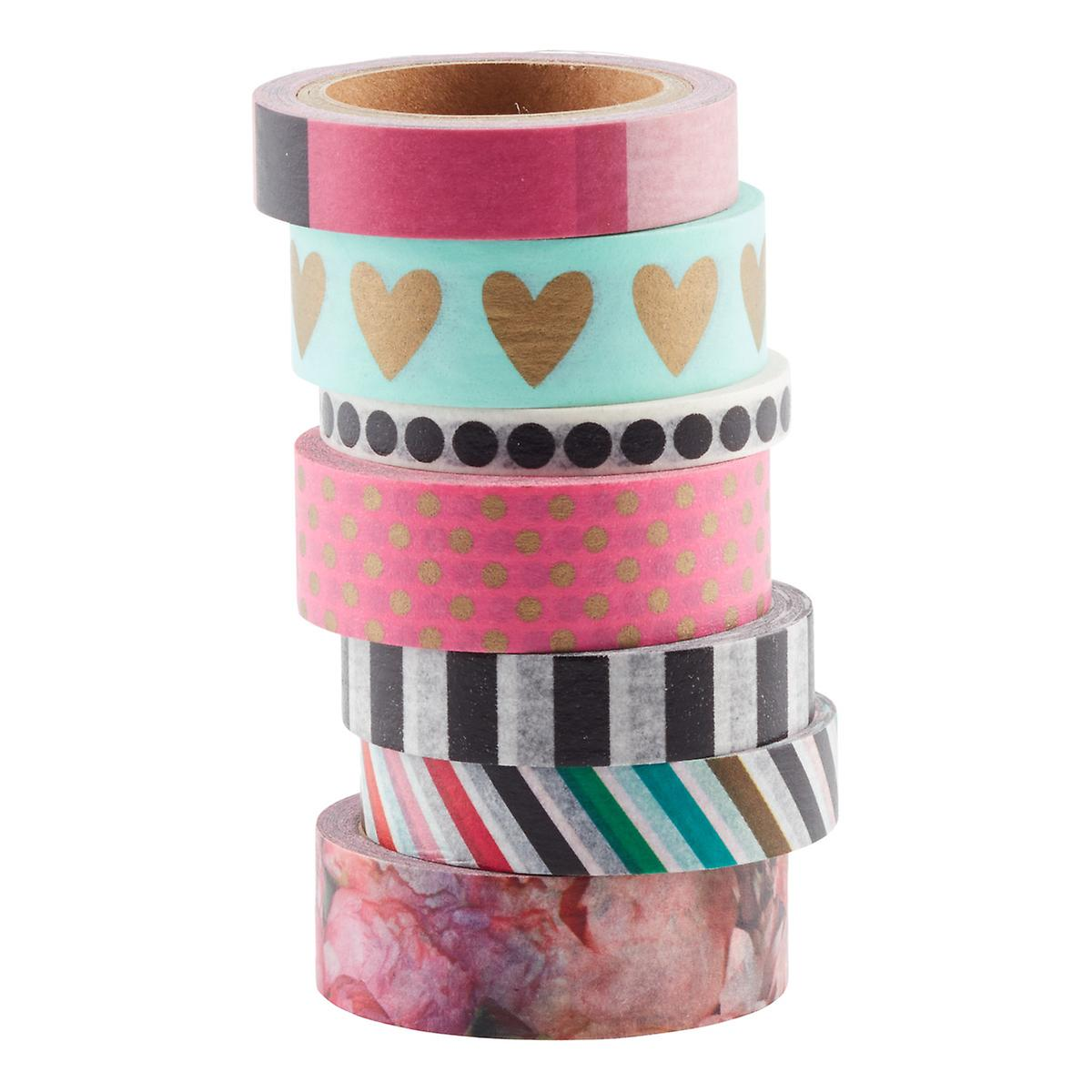 Peony Florals Washi Paper Tape