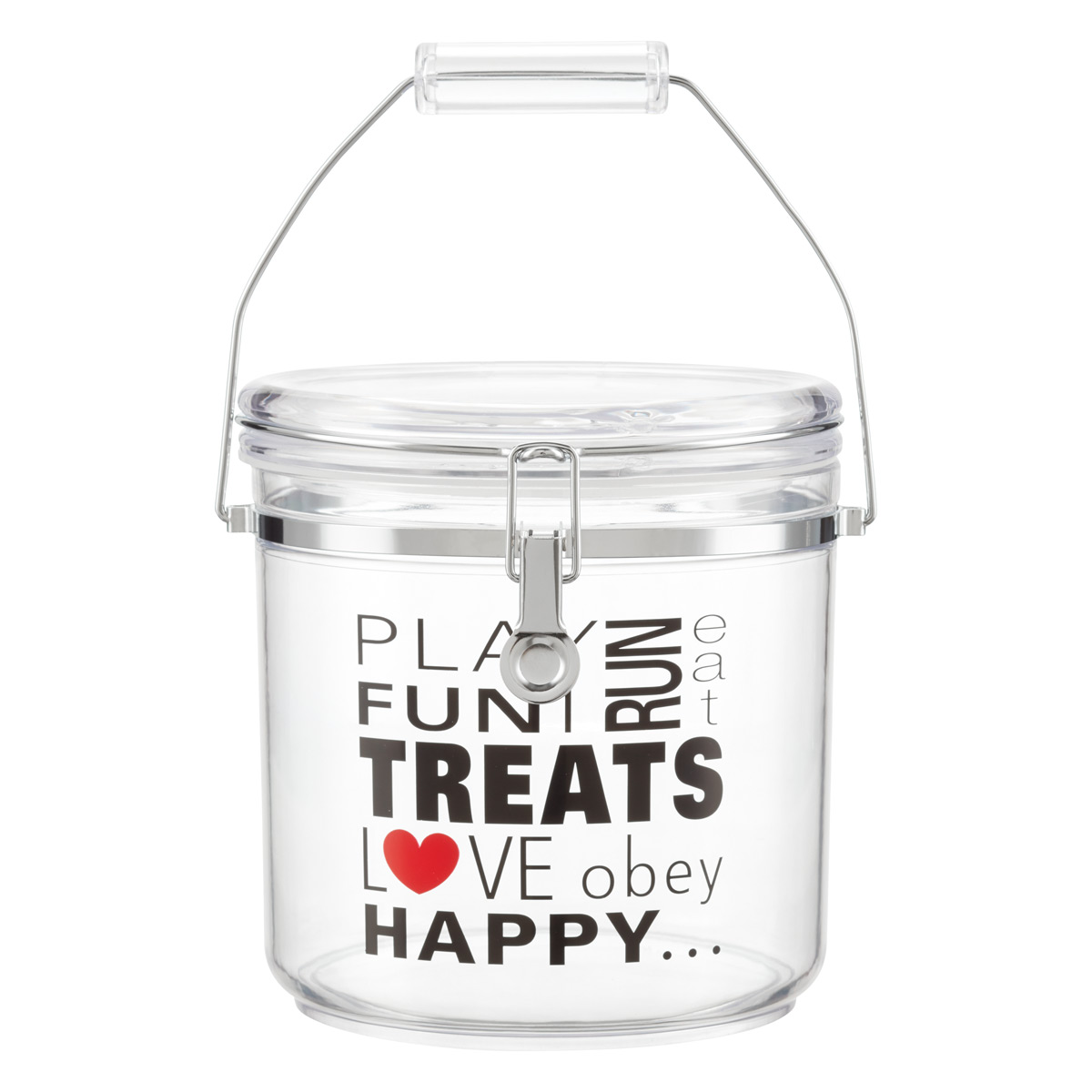 4.84 qt. Round Jumbo Pet Canister