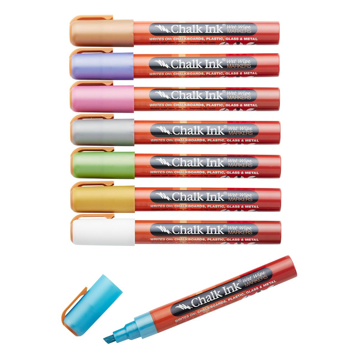 Chisel Tip Bling Chalk Markers