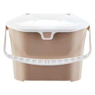 Delicieux Taupe Kitchen Collector Compost Bin