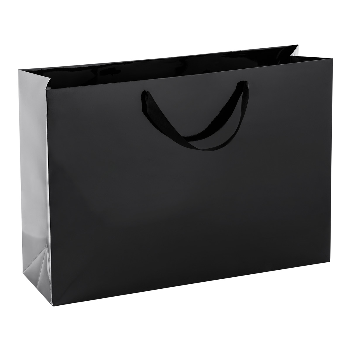 Jumbo Black Gloss Gift Bag