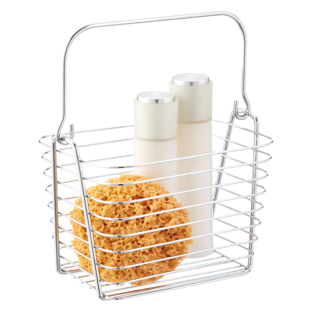 Classico basket the container store - Bathroom storage cabinet with baskets ...