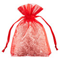 Red Organza Gift Sacks