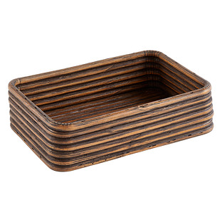 Rattan Coil Serving Tray