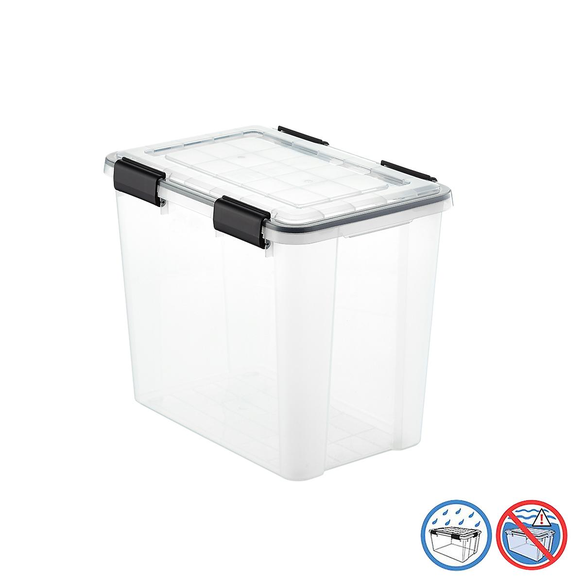 Storage Totes Large Plastic Bins Storage Containers The