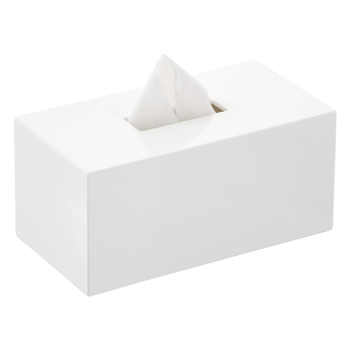 Lacquered Rectangular Tissue Box Cover