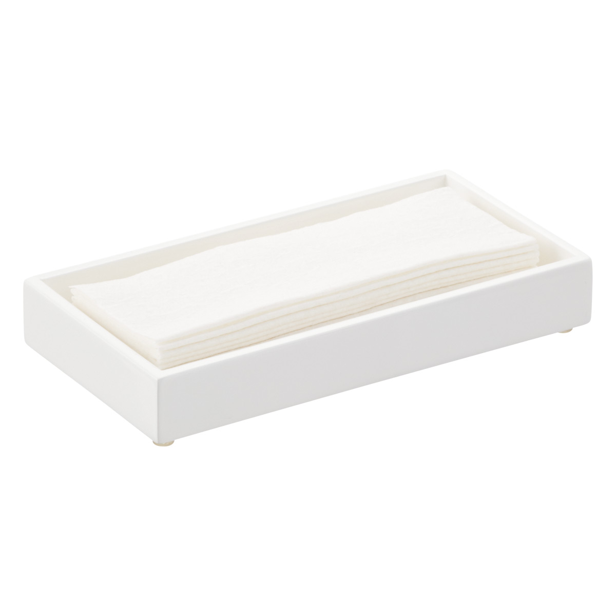 Lacquer Guest Towel Tray