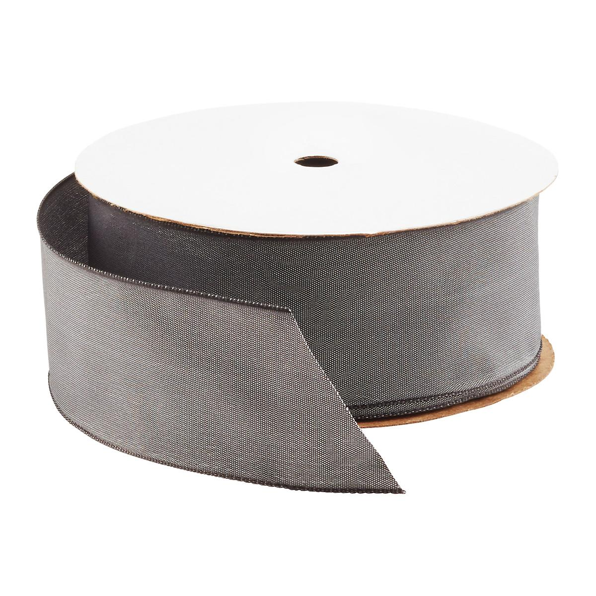 Pewter Gelato Wired Ribbon