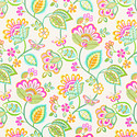 Deco Floral Wrapping Paper