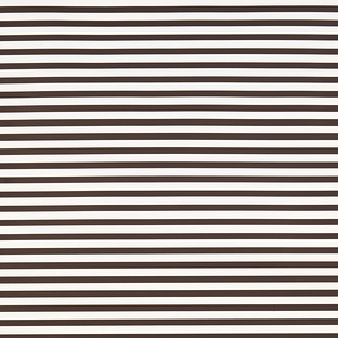 Black Narrow Stripe Treeless Wrapping Paper