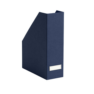 Bigso Navy Stockholm Magazine Holder