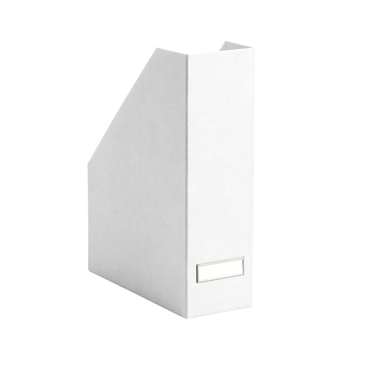 Bigso White Stockholm Magazine Holder