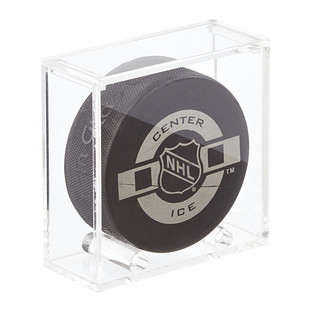 Acrylic Hockey Puck Premium Display Cube