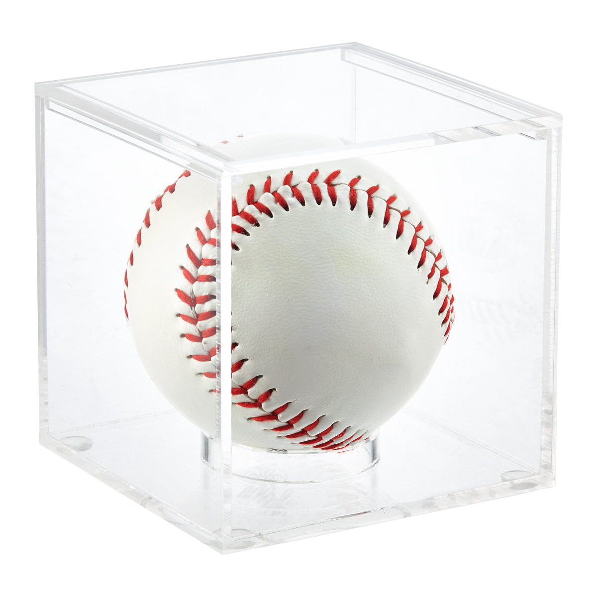 Acrylic Baseball Premium Display Cube