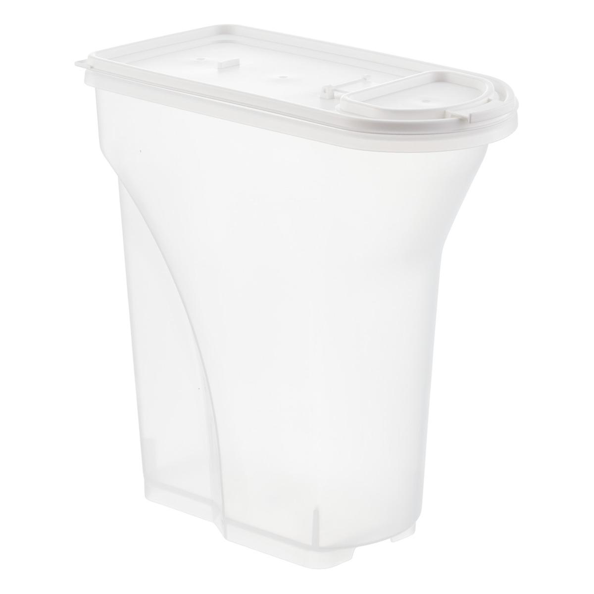 iris 5 lb pet food container the container store. Black Bedroom Furniture Sets. Home Design Ideas