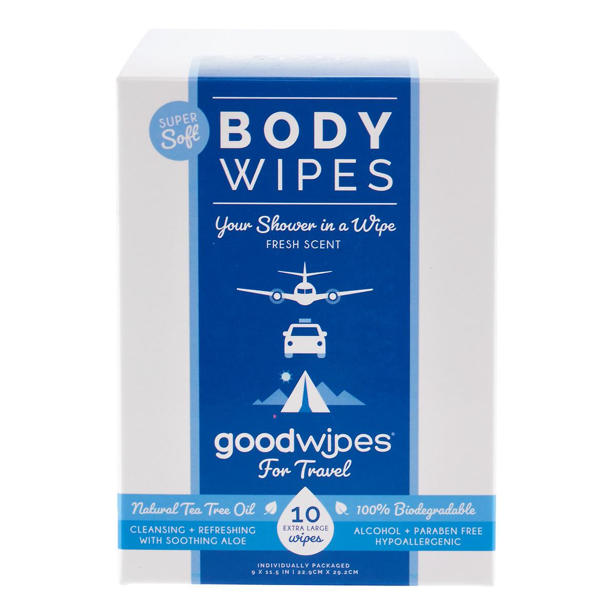 Goodwipes Deodorizing Body Wipes